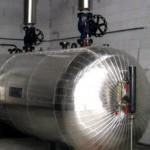 steam accumulator